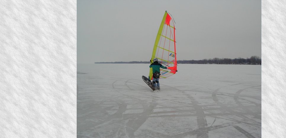 lessons, rentals, snow kiting, ice sailing, equipment, gear