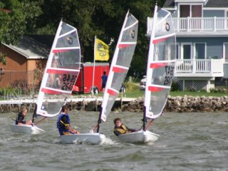 lessons open bic sailboat kids