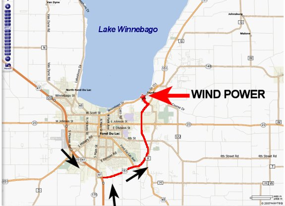 map to wind power windsurf kitesurf center