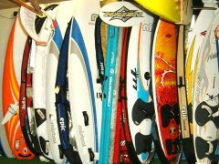 windsurf rentals boards, sails
