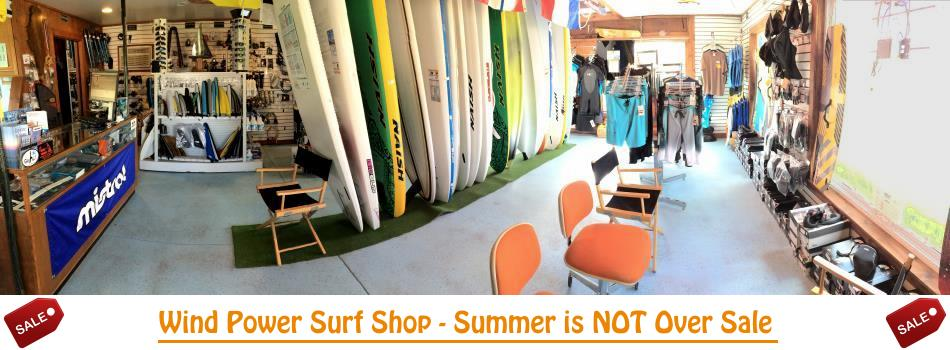 wind power surf shop summer sale