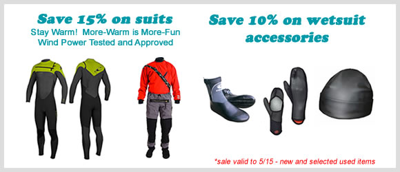 Spring Sale Wetsuits & Drysuits