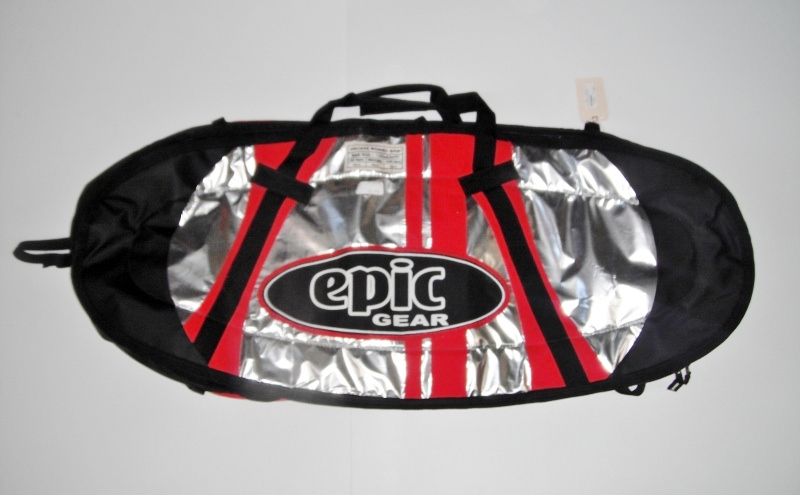 Epic Gear Deluxe Kiteboard Bag 130x50cm (Red) - Click Image to Close