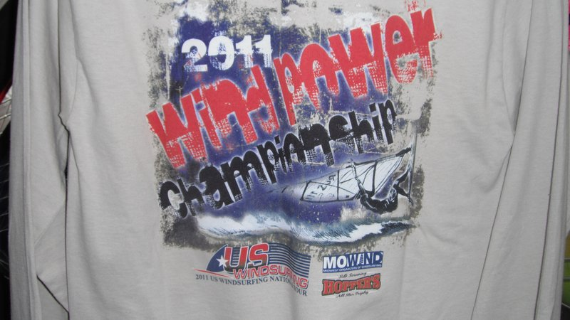 WP Champs T-Shirt 2011 L/S Sand XL Clothing - Click Image to Close